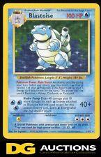 1999 Pokemon Base Set Unlimited Holo Blastoise #2/102