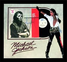 """MICHAEL JACKSON PERSONALLY SIGNED """"I Just cant Stop Loving You"""" LP VINYL RECORD"""