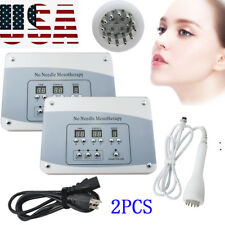 2xMesotherapy Facial Microcurrent Face Lift Photon Skin Freckle removal Machine