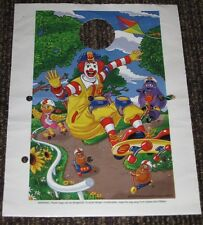 2004 Ronald McDonald Plastic Party Goody Bag Lot of 5