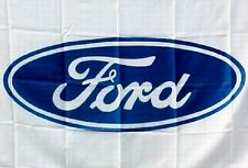 FORD FLAG BANNER AUSSIE BIRTHDAY GIFT AUTO CAR BAR BATHURST 5ftx3ft NEW