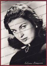 SILVANA PAMPANINI 12 ATTRICE ACTRESS CINEMA MOVIE STAR PEOPLE Cartolina FOTOGR.