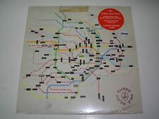 """Three Mile Pilot Maps single sided 12"""" EP with custom etch ltd ed with download"""