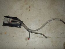 2008 Polaris Scrambler 500 4X4 Fuel Gas Petro Pump Bracket Lines Hose