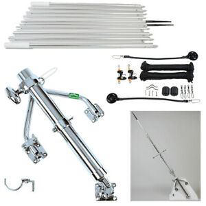 Lee's Junior Wishbone Outrigger Kit with 16 ft poles- For 19 to 23 ft Boats