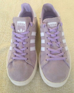 Womens Adidas Campus,lilac, Suede, Trainers, UK 4.5