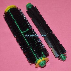 Bristle & Flexible Beater Brush for iRobot Roomba 500 510 530 540 560 570 580