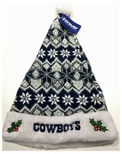 Dallas Cowboys NFL Football américain Noël Tricot Bonnet de Père Noël