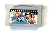 The Adventures of Jimmy Neutron Boy Genuis NINTENDO GAMEBOY ADVANCE GBA VIDEO