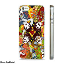 NEW THE BEATLES POP ART PHONE CASE FITS IPHONE 4 4S 5 5S 5C 6 6S 7 8 SE PLUS X