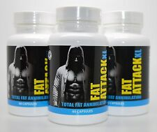 3 X Fat Attack XL Total Fat Annihilation Weight loss and Feel Great