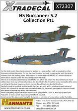 NEW Xtradecal X72307  1:72 Blackburn Buccaneer S.2 Collection Part.1