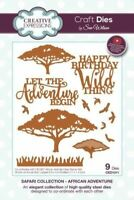 Creative Expressions African Adventure Safari Collection Dies CED1311