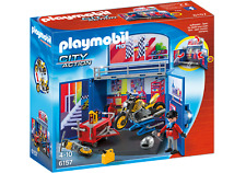 Playmobil 6157 My Secret Motorcycle Workshop Play Box for Age 3+