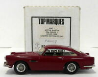 Top Marques 1/43 Scale AML1 - 1958 Aston Martin DB4 S1 Coupe - Maroon