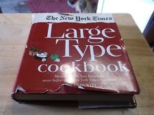 The New York Times Large Type Cookbook Jean Hewitt 1968 HB