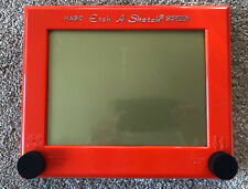 Vintage Etch-A-Sketch Drawing Toy Great Condition