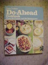 Betty Crocker's Cookbook 10X8.50 In. Do-Ahead  from The Freezer & Refrigerator