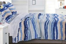 2pc Crystal Cove Twin Quilt Set Coastal Beach Sea Shore Ocean Tie Dye Batik