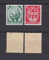 GERMAN REICH 1934 Saar Plebiscite Mint ** 444-445 (Mi.544-545)