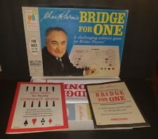 Vintage 1967 Milton Bradley BRIDGE FOR ONE Solitaire Game Chas Goren's EXCELLENT