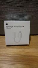Genuine Apple Lightning A 3.5 mm Adaptador de conector para auriculares iPhone 7 & 7+ 8 Plus en Caja