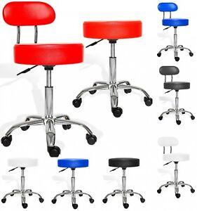 Kesser Rollhocker Drehstuhl Arbeitshocker Drehhocker Stuhl Sitz Hocker Kosmetik