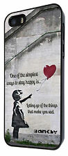 Banksy girl Quote Case Cover iphone 6 iphone 6 plus iphone 4 iphone 5 5S 5C