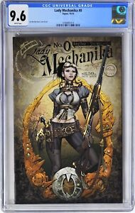 S279. LADY MECHANIKA #0 Aspen CGC 9.6 NM+ (2010) 1st App. of LADY MECHANIKA