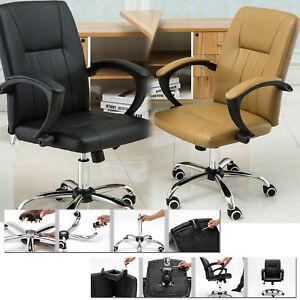 New Ergonomic Office Chair Adjustable Desk Chair Swivel Computer Chairs UK