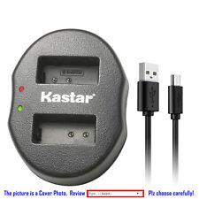Kastar Battery Dual USB Charger for Nikon EN-EL20 & Nikon Coolpix P1000 Camera