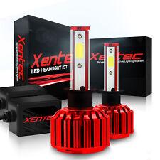 LED Kit Lights H11 H8 H9 size Xentec 120W 12800lm HID White color 6K 6000K