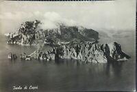 CARTOLINA ISOLA DI CAPRI 1956 CP01
