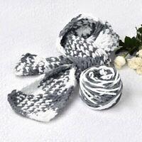 165 g Skeins Yarn Chunky Crochet Chenille Milk Soft Velvet Knitting Wool UK
