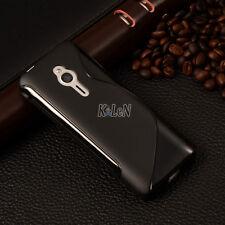 Black S Line Soft Gel TPU Silicone Case Cover Skin For Nokia 230 /230 Dual SIM