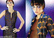 PUBLICITE ADVERTISING 065  1997  ATSURO TAYAMA  haute couture (2p) MILA JOVOVICH
