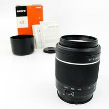 Sony SAL55200 55-200mm f/4-5.6 DT ED Compact Telephoto Zoom Lens
