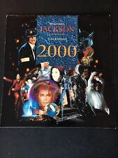 calendrier Michael Jackson 1999/2000