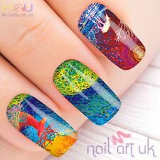 Vivid Deer Decal Nail Art Stickers, Decals, Tattoos
