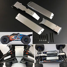 Metal Chassis Protection Skid Plate Guard for 1/10 RC Traxxas E-Revo 2.0 TRX-4