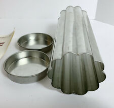 Pampered Chef Valtrompia Scalloped Bread Tube Pan High Quality Aluminum
