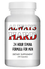 ALWAYS HARD - SEX PILLS FOR MEN - BE READY 24x7 - NATURAL DIETARY SUPPLEMENT 30