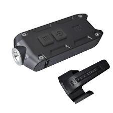 Nitecore TIP 2017 Black 360 Lumen USB Rechargeable LED Keychain Flashlight