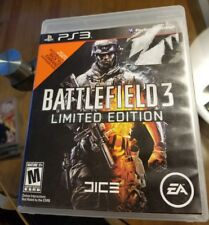 Battlefield 3 III limited edition PS3 game+ case online manual playstation 3 exc