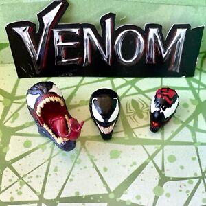Marvel Legend Carnage Monster Venom BAF Head Tom Hardy movie Spider-man UPICK!
