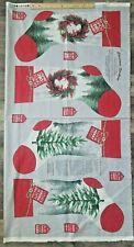 Holiday Traditions Christmas Stocking Fabric Panel Jan Shade Beach Henry Glass