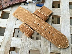 26 mm handmade rolled canvas watch strap .UK Naval seasack.Vintage .Bad@@s.