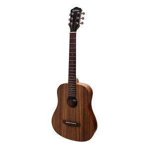 New Martinez Babe Traveller Mini Acoustic Travel Guitar (Rosewood)