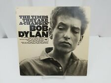 Bob Dylan Vinyl Record The Times They Are A-Changin LP Album Hollis Brown