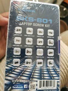 New sealed Sks-801 Laptop Screw Kit Kingwin free uk delivery